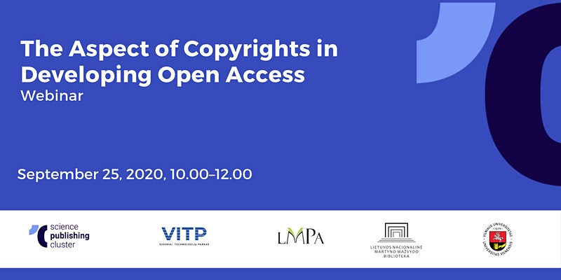 The Aspect of Copyrights in Developing Open Access